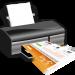 Papier, Drucken